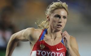 Антонина Кривошапка - призер ЧМ по легкой атлетике 2013