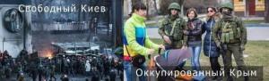 Разница между Киевом и Крымом