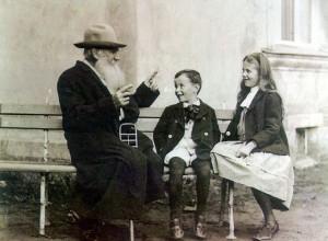 Толстой и дети