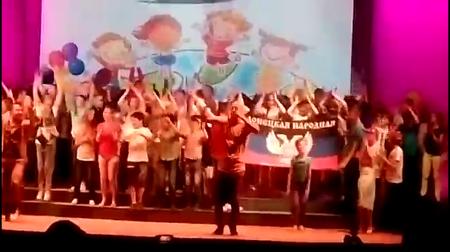 Дети из ДНР в Москве