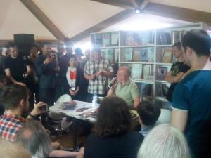 Дмитрий Пучков в Москве на книжной ярмарке