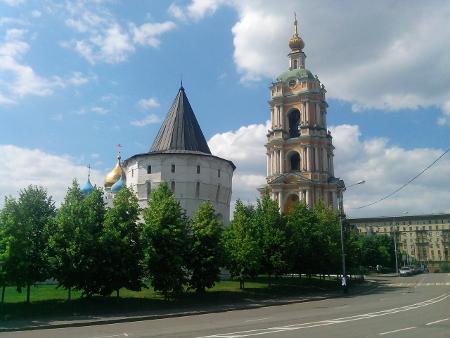 Новоспасский монастырь 2016 год