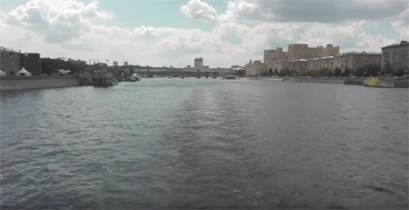 Прогулка по Москва реке